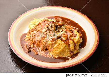 大米煎蛋 蛋包飯 蛋 29302339