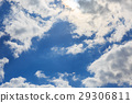 蓝天 蓝蓝的天空 春天 29306811