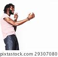 adult, african, audio 29307080