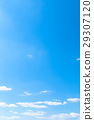 푸른, 하늘, 파란 29307120