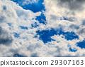 蓝天 蓝蓝的天空 春天 29307163