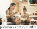 Homemade food and little helper. 29309071