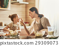 Homemade food and little helper. 29309073