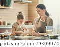 Homemade food and little helper. 29309074