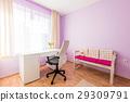 Purple Children's Room in Modern Home 29309791