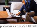 노트북, 비즈니스, 회사원 29310149