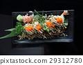 tempura prawn maki sushi 29312780