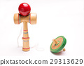 Kendama with white back and solitarine 29313629