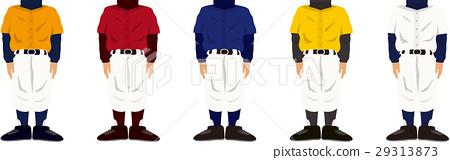 야구 유니폼 _ 색 세트 29313873
