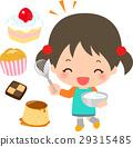 烹饪甜点 烤甜点 儿童 29315485