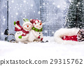 Christmas and Happy New year, winter concept 29315762