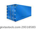 Cargo Container Vector 29316583