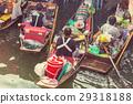 Floating market 29318188