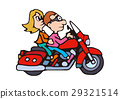 Large bike illustration, American bike 29321514