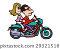 Large bike illustration, American bike 29321516