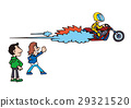Large bike illustration, American bike 29321520