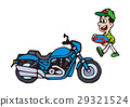 Large bike illustration, American bike 29321524