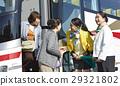 游客 乘公交旅行 旅客 29321802