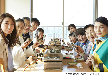 海鮮餐廳遊客 29321809