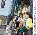 乘公交旅行 旅客 停車地點 29321907