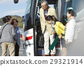 遊客 乘公交旅行 停車地點 29321914