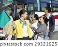 游客 乘公交旅行 车长 29321925