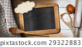 Baking Background with Empty Blackboard 29322883