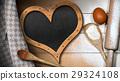 Baking Background with Empty Blackboard 29324108
