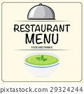 menu, restaurant, bowl 29324244