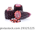 purple corn isolated on white background 29325225