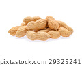 peanuts isolated on white background 29325241