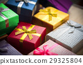Various color of gift boxes 29325804
