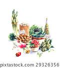 카레 갓 유기농 야채 29326356