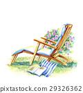 휴일은 정원 의자에 느긋하게 29326362