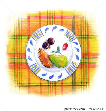 좋아하는 접시 - 과일 디저트 - 29326411