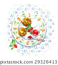 좋아하는 접시 - 애프터눈 티 - 29326413