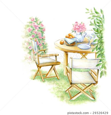 휴가 정원 의자 29326429