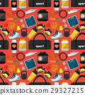 Sports and nutrition seamless pattern 29327215