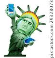自由 紐約 照耀世界 29328073