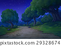 background for jungle at  nighttime 29328674