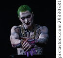 Joker from a Suicide Squad comics on a black 29330581