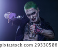 Joker from a Suicide Squad comics on a black 29330586