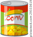 Sweet corn in can 29333619