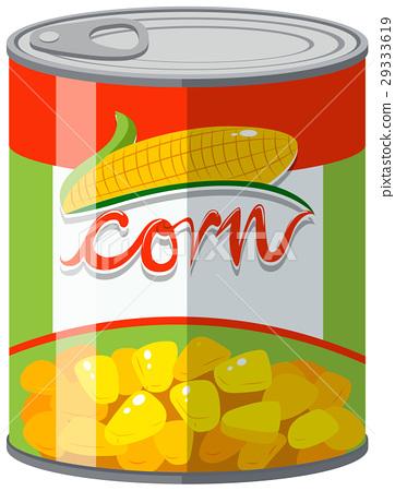 Sweet corn in can 29333619