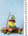 Fruit salad in mason jar 29333957