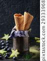 Waffle cones for ice cream 29333968