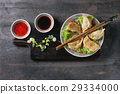 gyoza, potsticker, pot 29334000