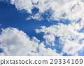 blue sky, cloud, clouds 29334169