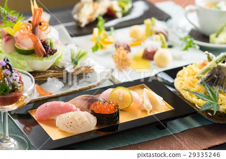 日本寿司菜单菜单图像 29335246