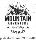 mountain, logo, vector 29335689